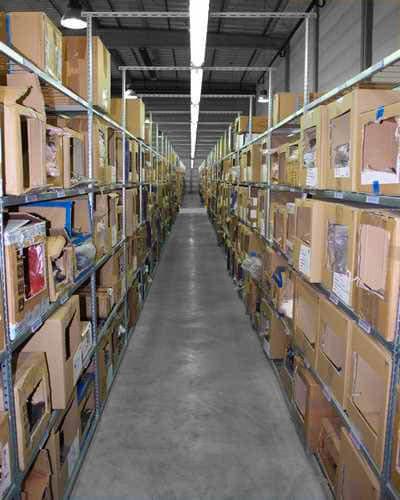 rayonnage cartons
