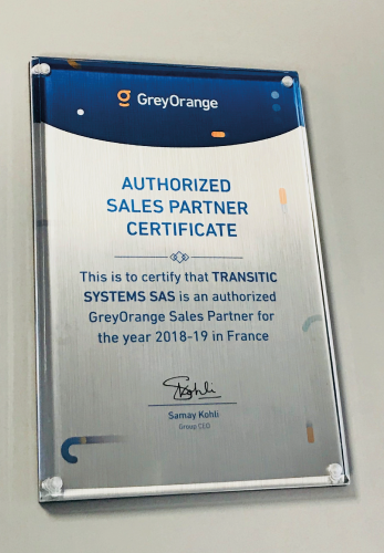 greyorange en partenariat avec transitic